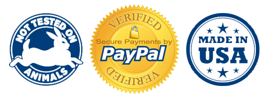 made in us not tested on animals paypal verified